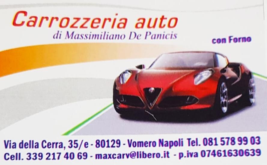 Carrozzeria auto di Massimiliano De Panicis