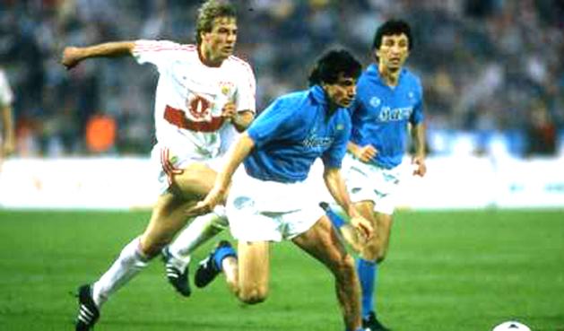 """Giovanni Francini: """"Erano anni che non mi divertivo col Napoli, speriamo stasera di vedere una bella partita"""""""