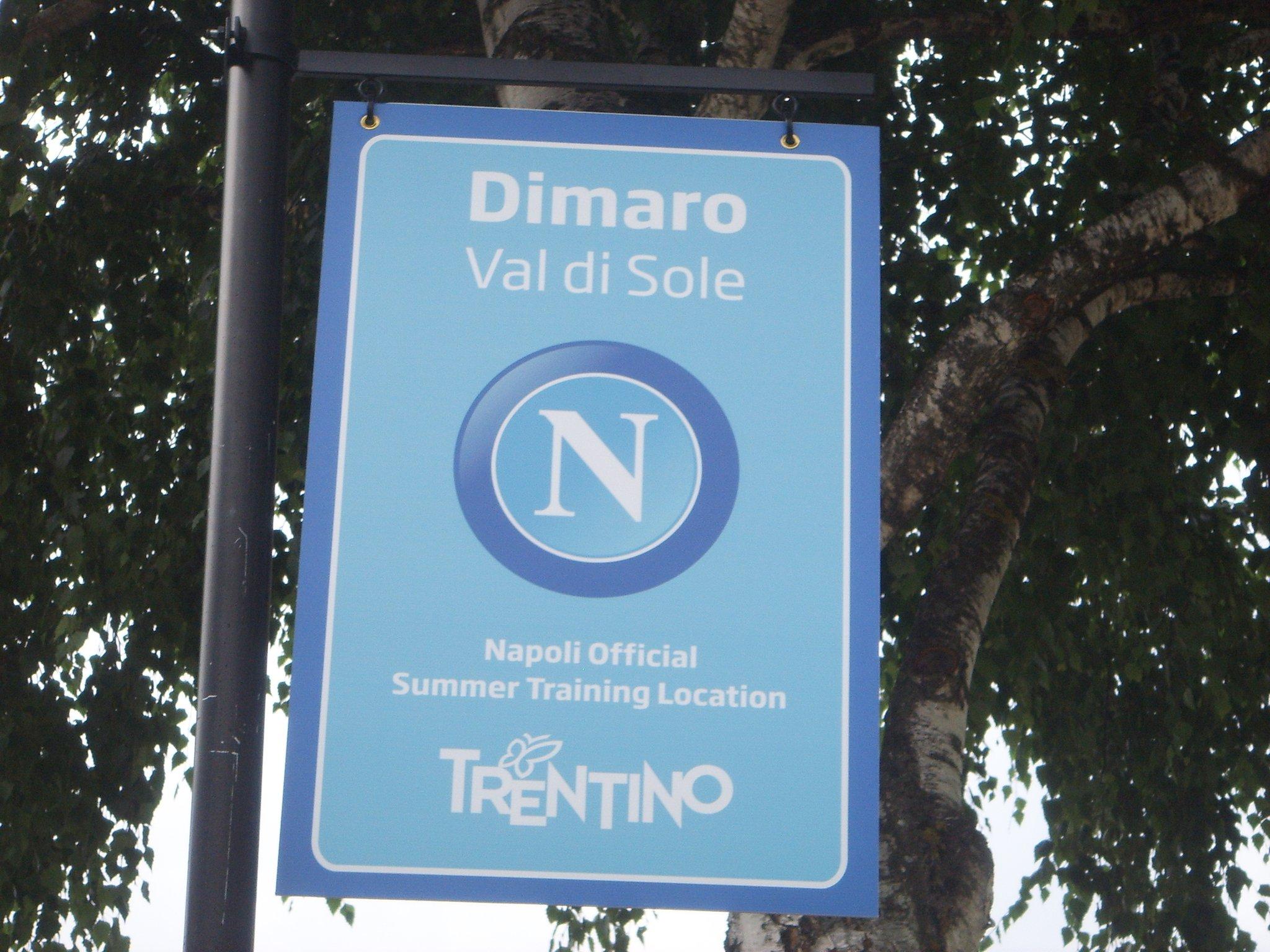 Il Napolia a Dimaro dal 6 al 26 luglio, il programma del ritiro