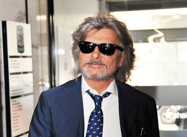 """Massimo Ferrero """"Mercato? Giampaolo resta Torreira no 4 club su di lui"""""""