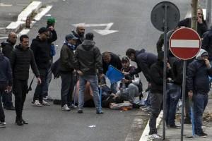 roma ciro esposito aggressione