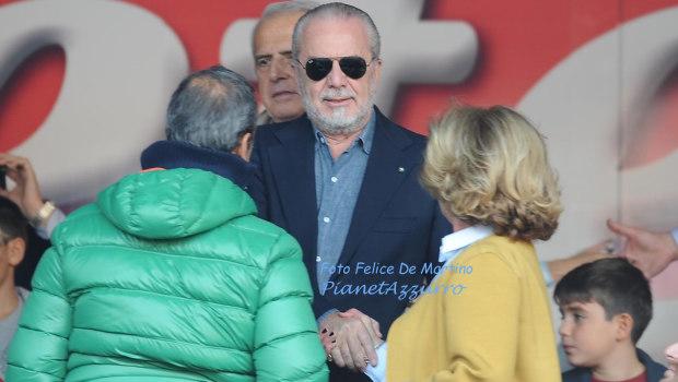 De Laurentiis_DMF_8153 Napoli-Cagliari 23/11/14 foto De Martino