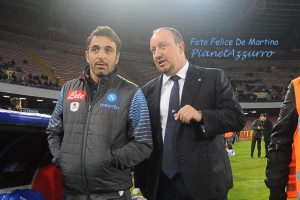 Pecchia-Benitez_DMF_7614 Napoli-Slovan Bratislava 11/12/2014 foto De Martino
