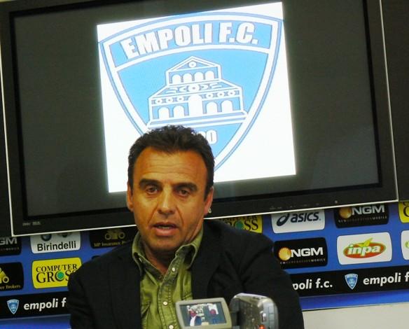 """Corsi (pres. Empoli): """"La squadra nel secondo tempo ci ha regalato belle soddisfazioni, ho visto Sarri nervoso"""""""