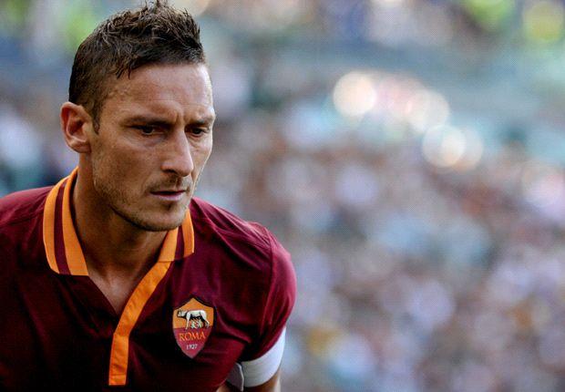 """Totti titolare al passo d'addio: un """"evento"""" da 1,85"""