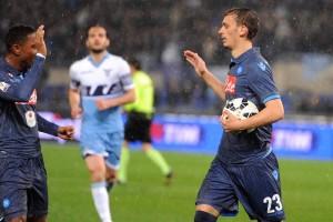Coppa Italia Lazio-Napoli Gabbiadini gol