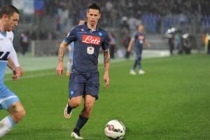 Coppa Italia Lazio-Napoli Hamsik