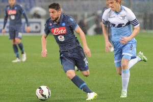 Coppa Italia Lazio-Napoli Mertens