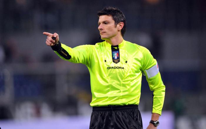 Il fischietto di Lazio vs Napoli
