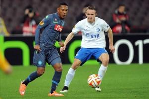 Napoli-Dinamo Mosca De Guzman