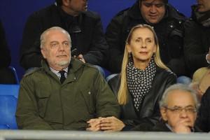Napoli-Dinamo Mosca De Laurentiis