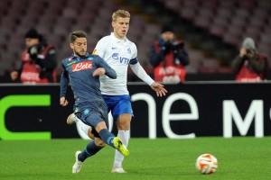 Napoli-Dinamo Mosca Mertens 2