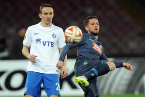 Napoli-Dinamo Mosca Mertens