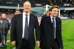 Napoli-Inter Benitez e Pecchia