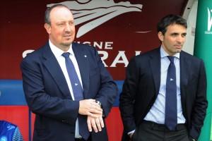 Cagliari-Napoli Benitez-Pecchia 2