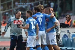 Esultanza_DMF_0970 Napoli-Fiorentina (12/4/2015) foto De Martino