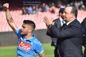 Insigne-Benitez_DMF_1070 Napoli-Fiorentina (12/4/2015) foto De Martino