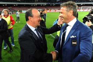 Napoli-Sampdoria Benitez-Mihajlovic