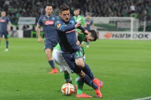Wolfsburg-Napoli Mertens