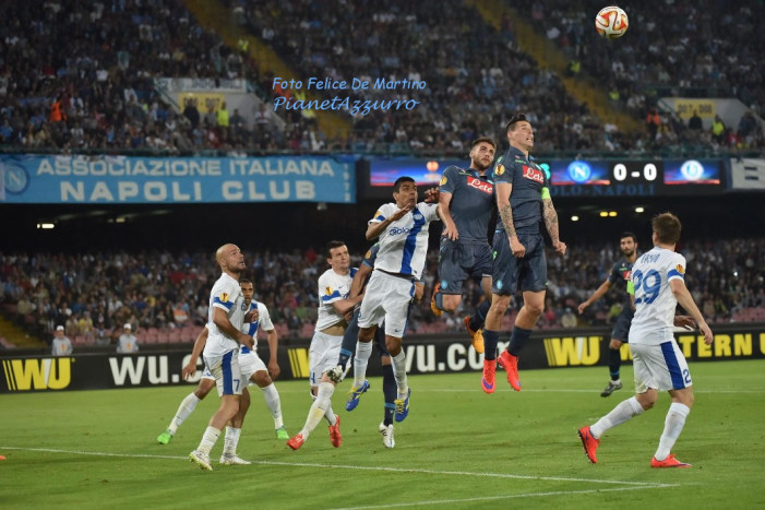 PHOTO GALLERY: 7-5-2015 Napoli vs Dnipro