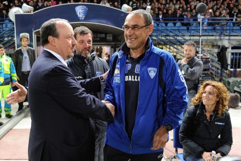 Empoli-Napoli-Sarri-Benitez