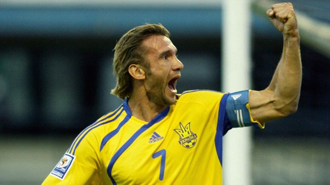 """I SIGNORI DEL CALCIO – Andriy Shevchenko, """"L'usignolo di Kiev"""""""