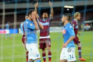 higuain rigore sbagliato Napoli-Lazio 2-4