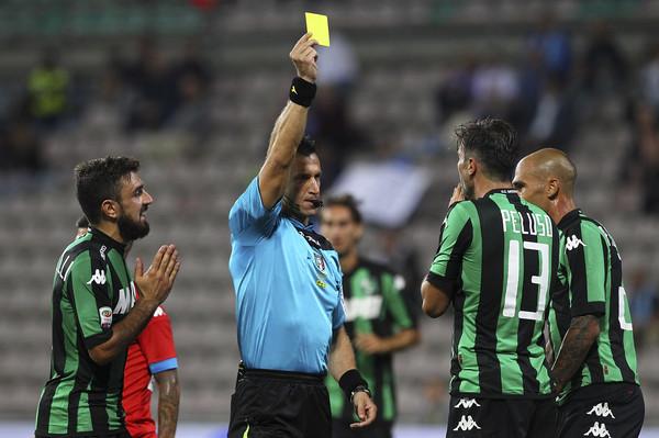 Il fischietto di Napoli vs Milan
