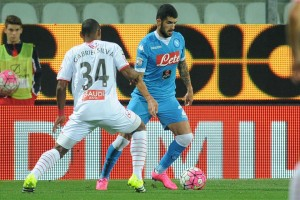 Carpi-Napoli 0-0 Hysaj