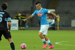 Napoli-Lazio 5-0 Hamsik