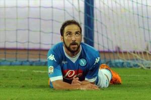 Napoli-Lazio 5-0 Higuain 3