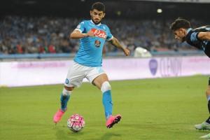 Napoli-Lazio 5-0 Hysaj 2