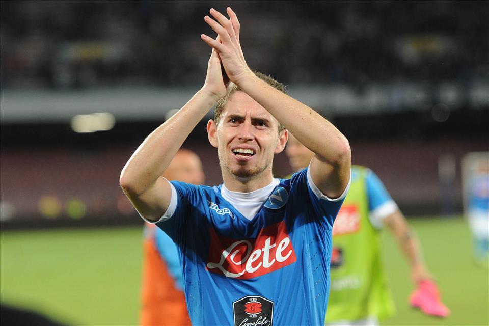 Napoli-Lazio 5-0 Jorginho