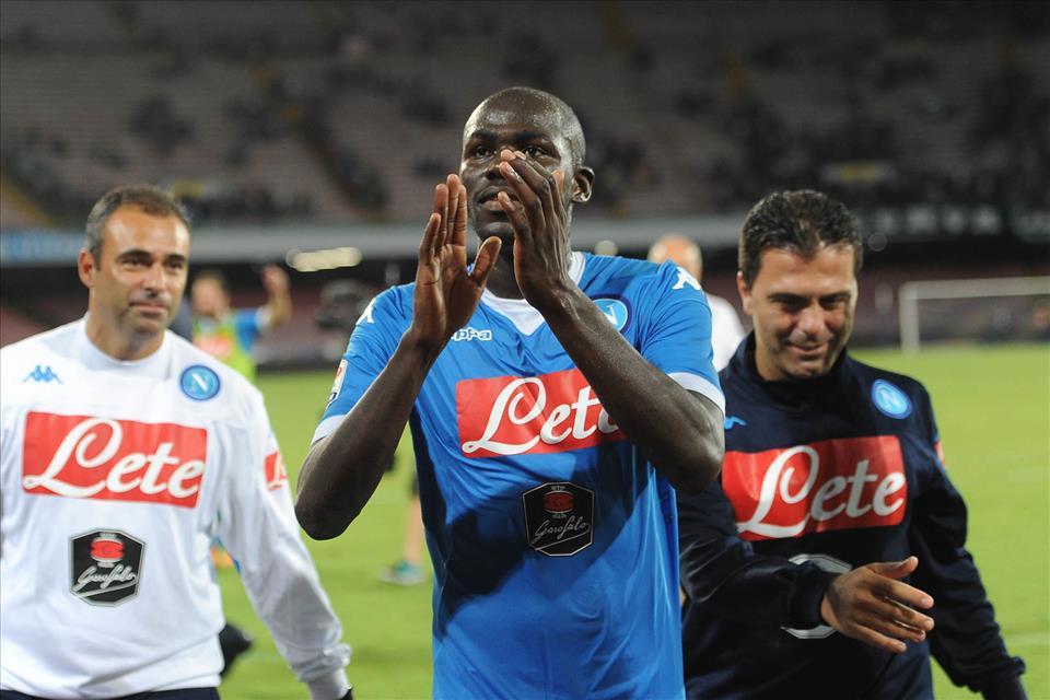 Napoli-Lazio 5-0 Koulibaly 2