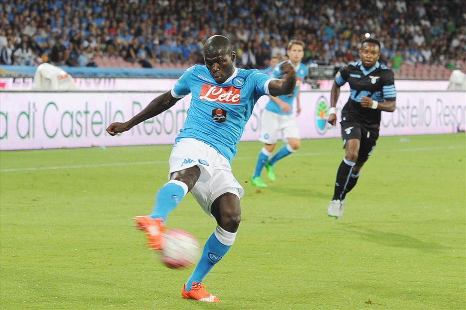 Napoli-Lazio 5-0 Koulibaly