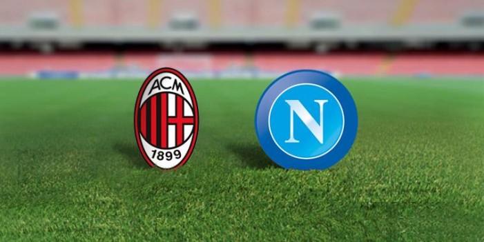 Milan-Napoli, le formazioni ufficiali
