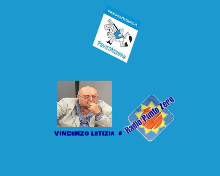 Vincenzo Letizia a Radio Punto Zero (10/9/2015)