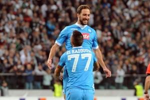 Legia-Napoli 0-2 El Kaddouri-Higuain