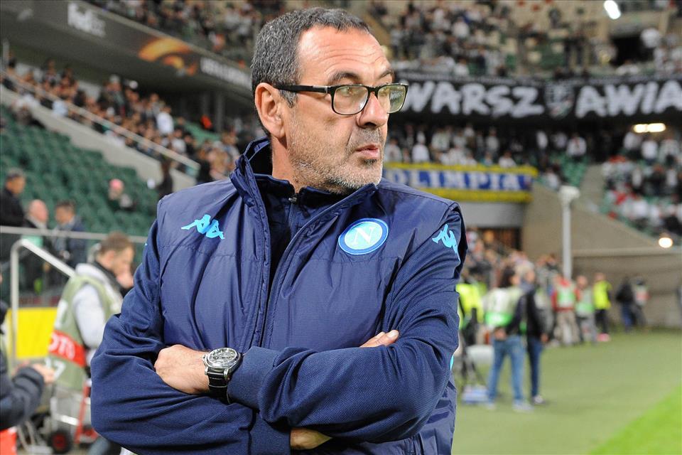 Legia-Napoli 0-2 Sarri 2