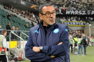 Legia-Napoli 0-2 Sarri