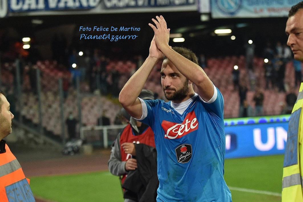 Higuain_DMF_7898 Napoli-Udinese 9/1/2015 foto De Martino