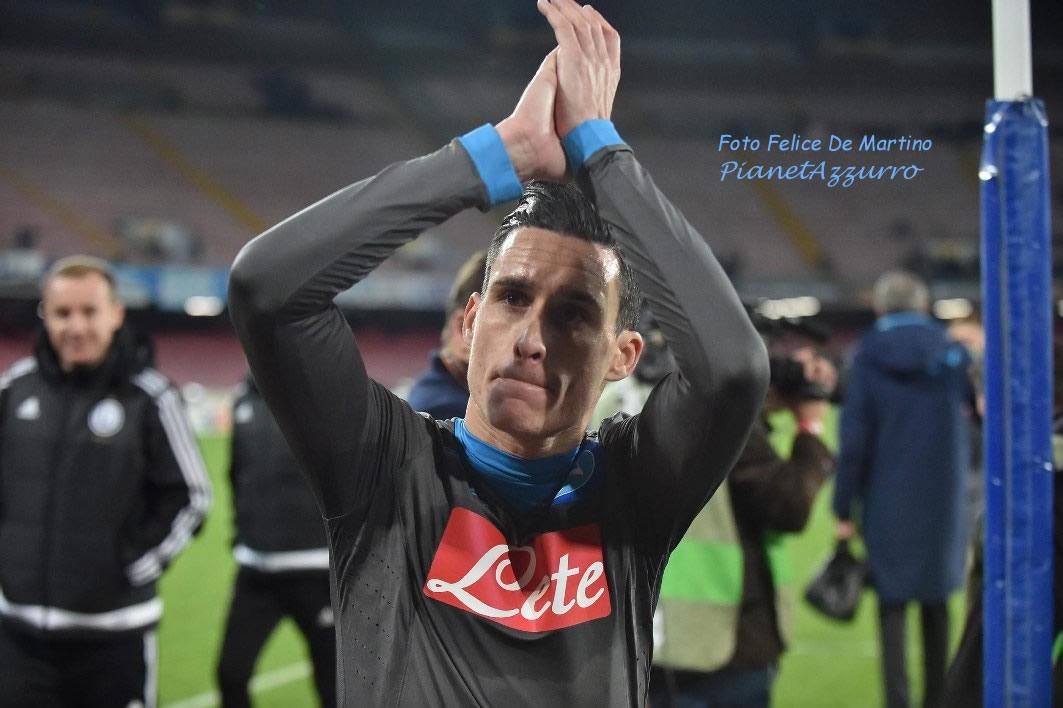Callejon_DMF_0509 Napoli-Legia 10/12/2015 foto De Martino