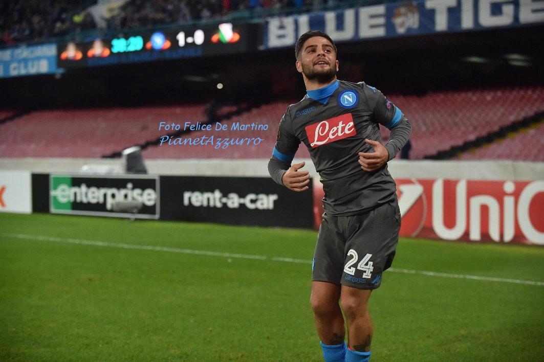 Insigne_DMF_0215 Napoli-Legia 10/12/2015 foto De Martino