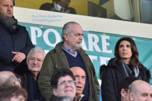 De Laurentiis_DMF_2858 Frosinone-Napoli 10-1-2016 foto De Martino