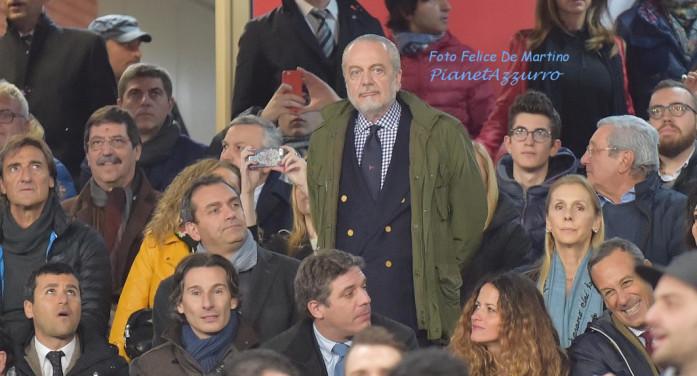 """De Laurentiis: """"Koulibaly resta a Napoli e spero anche Higuain, alla fine dell'Europeo parleremo con Hamsik"""""""