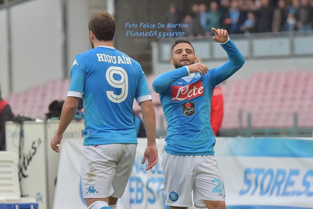 Higuain-Insigne_DMF_6037 Napoli-Empoli 31/1/2016 foto De Martino