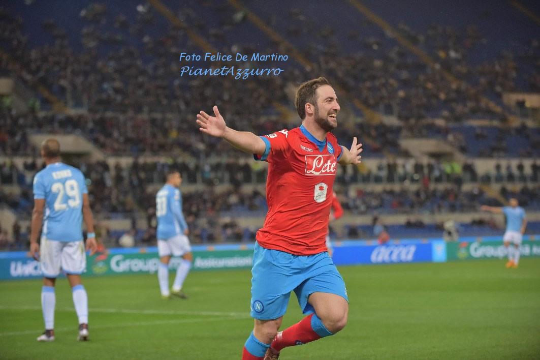 Higuain_DMF_6676 Napoli-Lazio 3/2/2016 foto De Martino