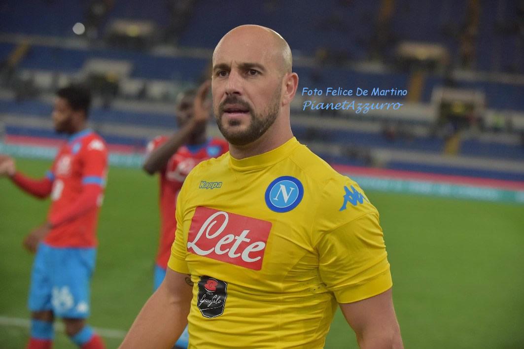 Reina_DMF_6829 Napoli-Lazio 3/2/2016 foto De Martino
