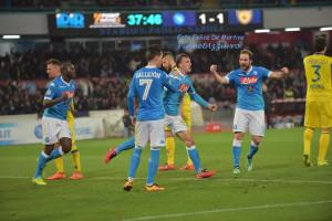 Esultanza Napoli_DMF_1586 Napoli-Chievo 5/3/2016 foto De Martino