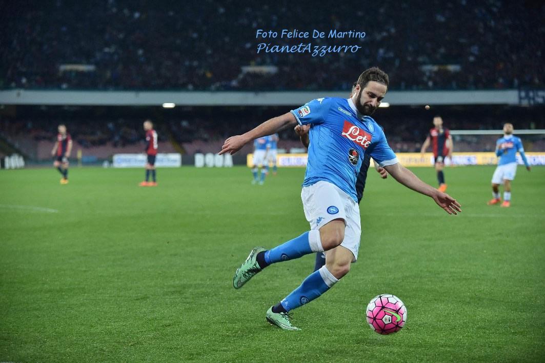 Higuain_DMF_3683 Napoli-Genoa 20/3/2016 foto De Martino